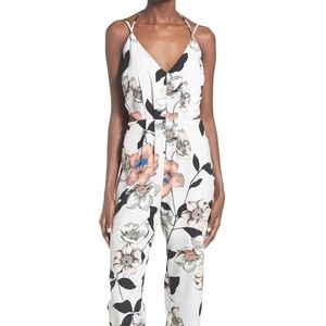 Leith Strappy Jumpsuit w/ Waist Cutouts